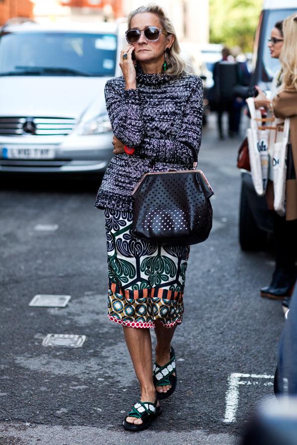 Стильные женщины уличная мода