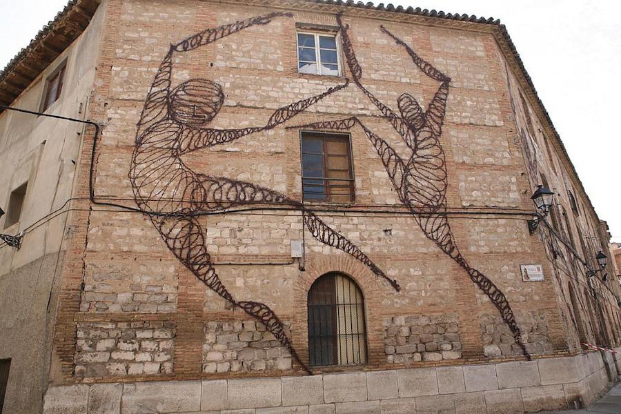 Фестиваль уличного искусства в Испании