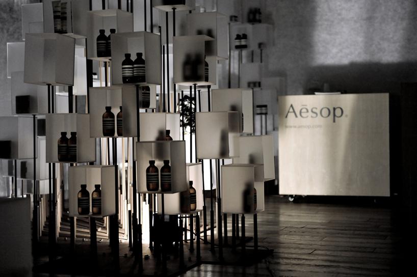 Интерьер магазинов Aesop