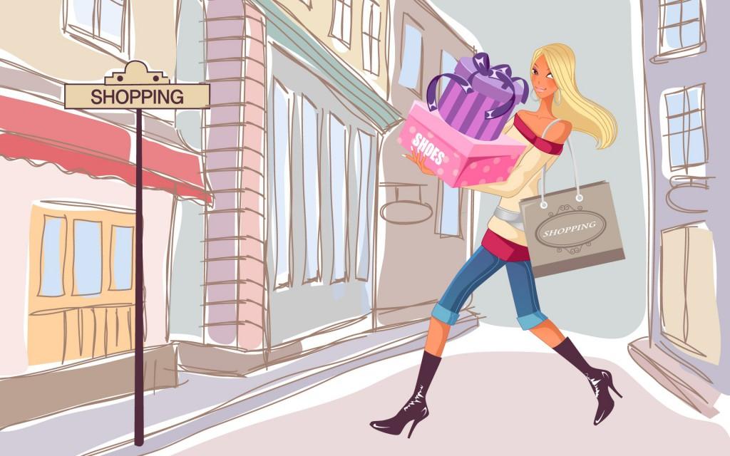 шоппинг в париже