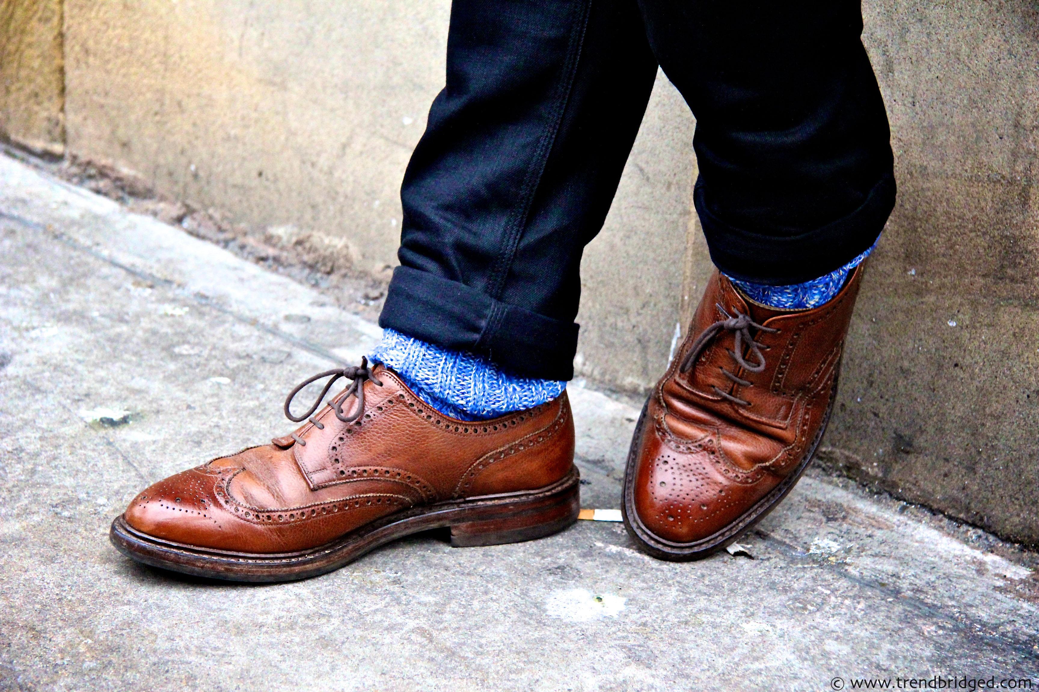 Как правильно подбирать цвет носков
