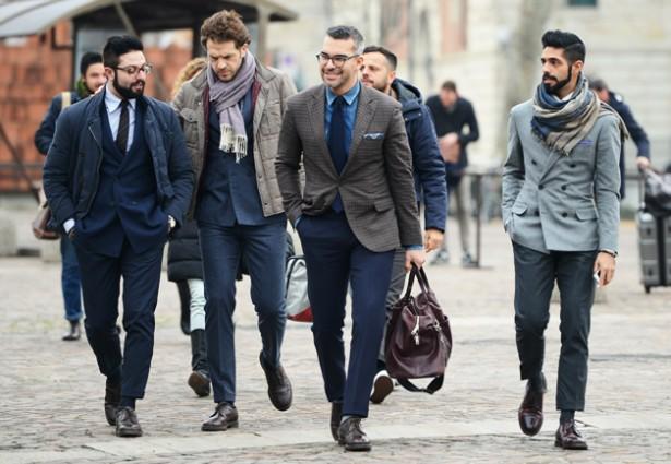 Итальянская мода для мужчин новинки фото