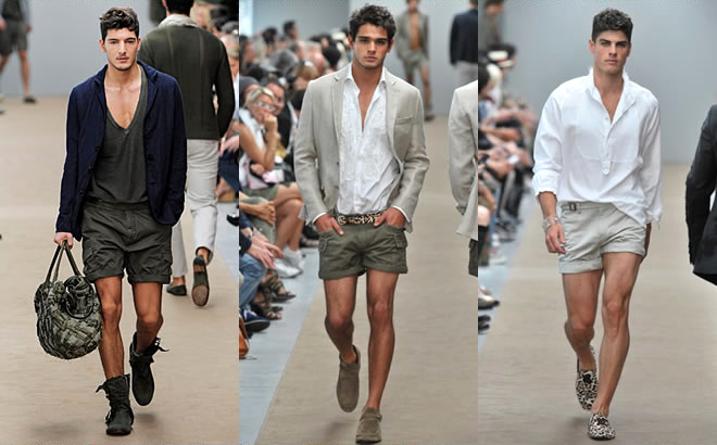 Гид по мужским шортам