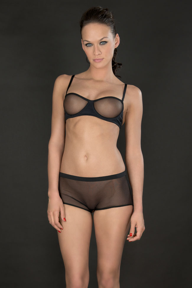 Maison-Close-SS14-Pure-Tentation-Bandeau-bra-and-open-shorty