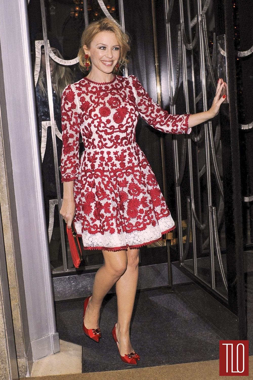 Kylie-Minogue-Claridges-ChristmaspTree-Party-Dolce-Gabbana-Fashion-Tom-Lorenzo-Site-TLO-1
