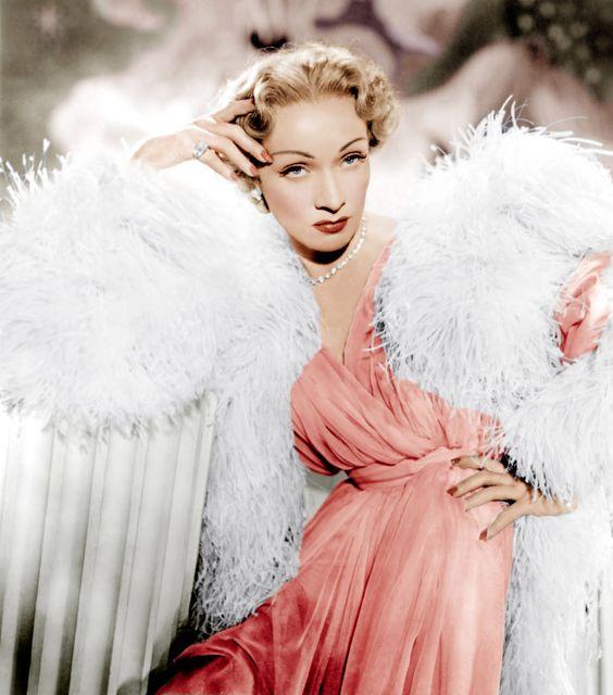 бренд Dior:  Марлен Дитрих, 1950