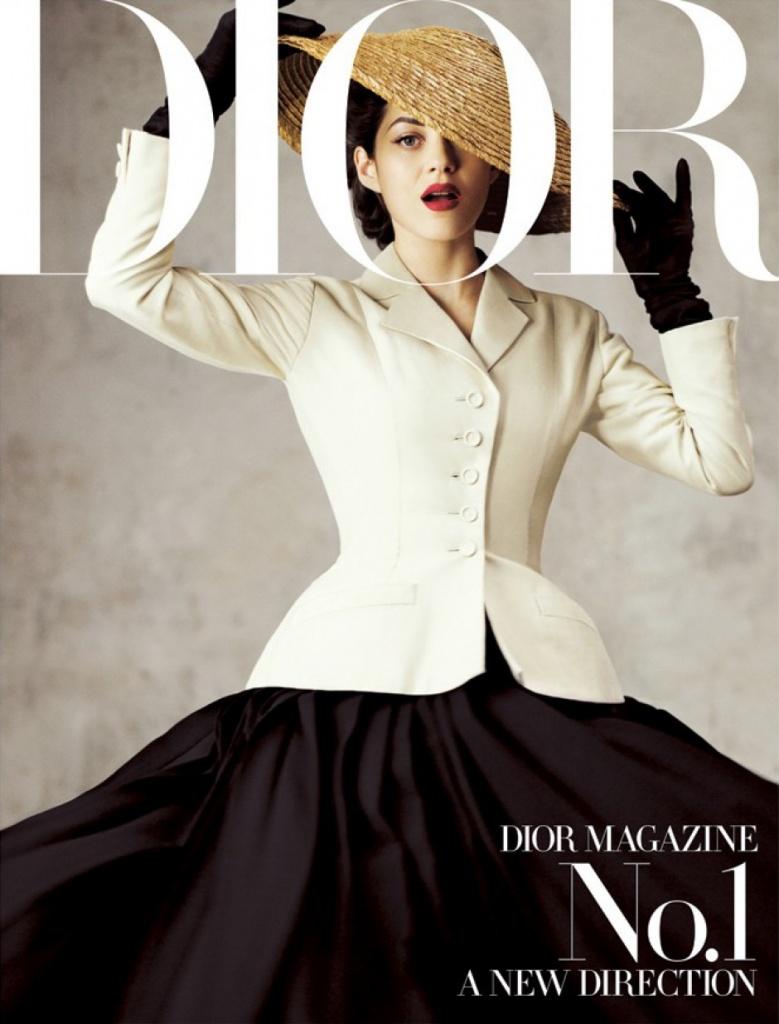 бренд Dior: Марион Котияр