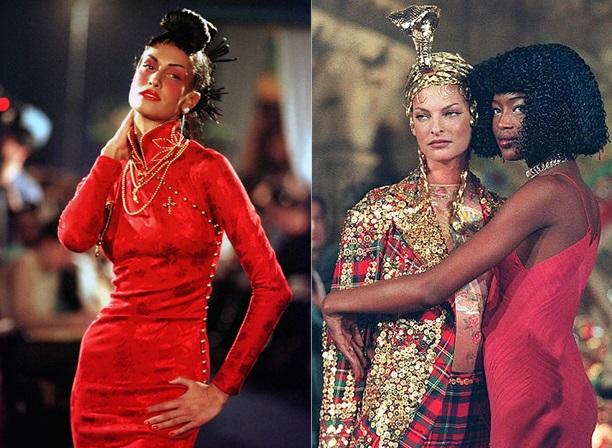 стиль 90-х Наоми и Линда