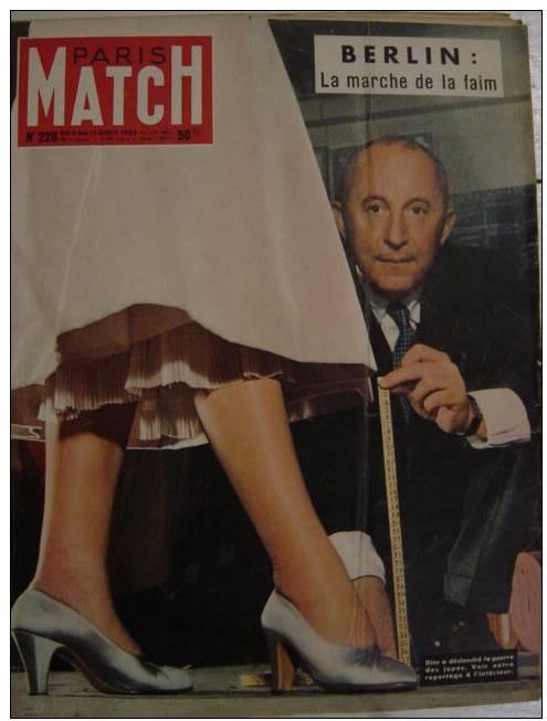 бренд Dior: Paris match