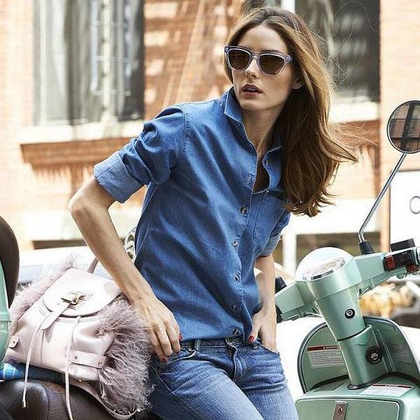 Как носить джинсовые вещи?