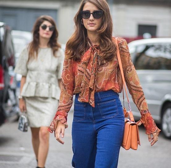 Модные блузы этого лета