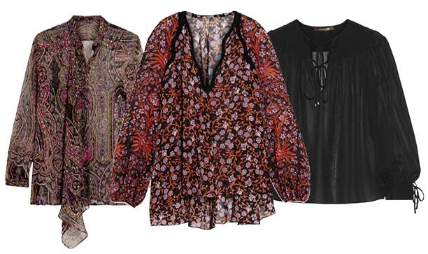 модная блуза: бохо