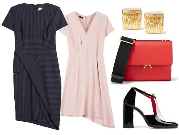 Офисный стиль: платье