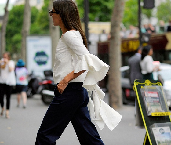 fashion-2015-09-paris-street-style-white-ruffle-sleeve-blouse-main