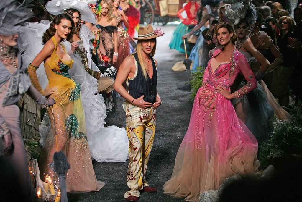 бренд Dior:  John Galliano