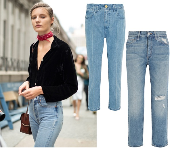 что носить летом: джинсы в стиле 90-х