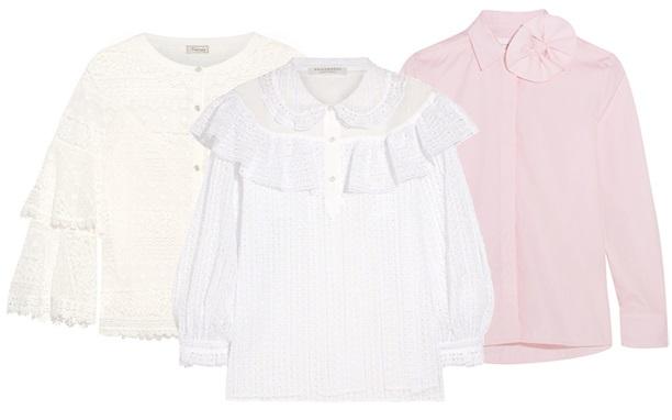 модная блуза: ретро