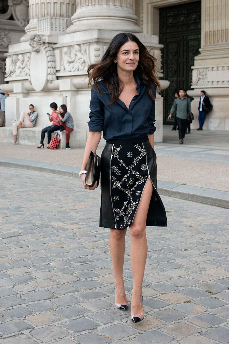 Офисный стиль: юбка и рубашка