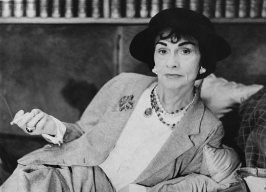 Мужские вещи в женском гардеробе Coco Chanel (1883 - 1971)