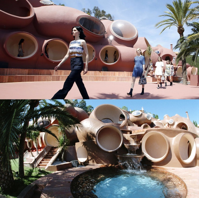 архитектура в моде