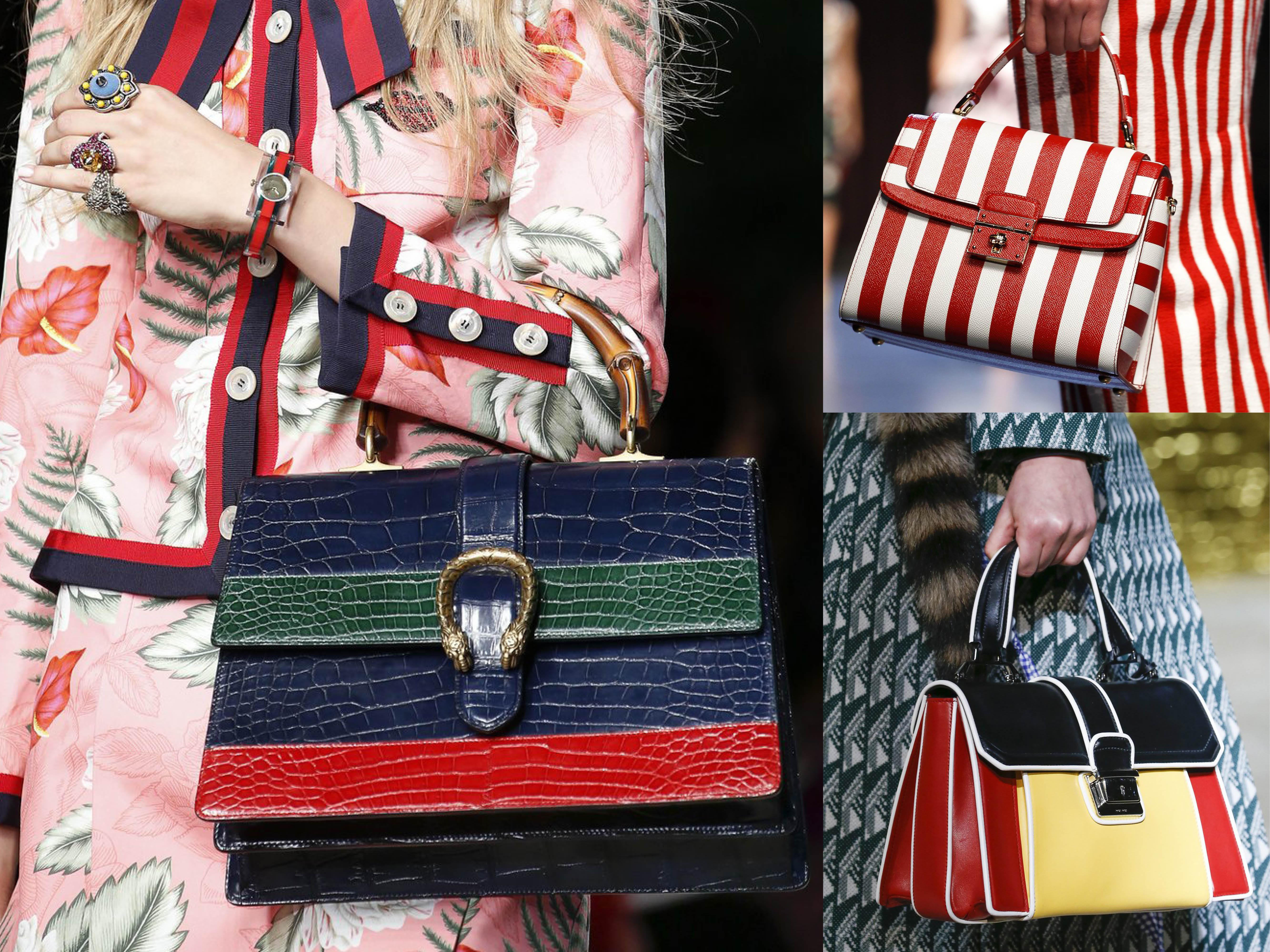 Модные сумки лета 2016