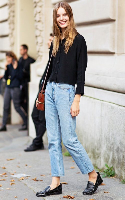 mom-jeans-black-loafers-via-stockholm-street-style