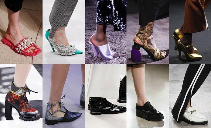 Модная обувь осени-зимы 2016-2017