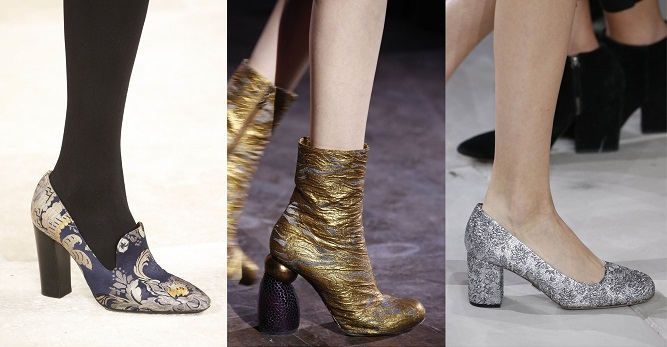 Модная обувь осени-зимы 2016-2017- барочные