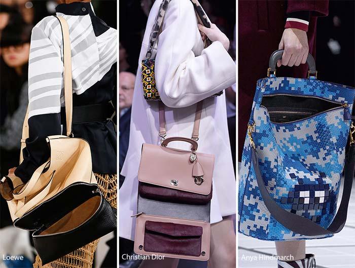 Модные сумки осени-зимы - открытые