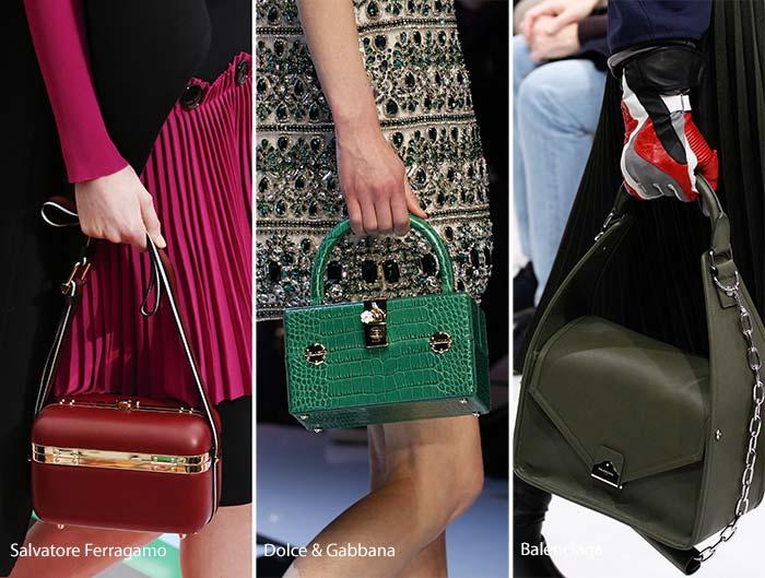 Модные сумки осени-зимы - коробки