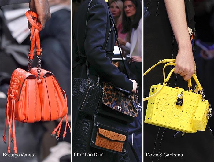 Модные сумки осени-зимы - две сумки