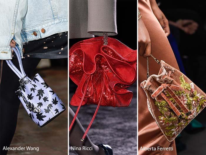 Модные сумки осени-зимы - кисеты