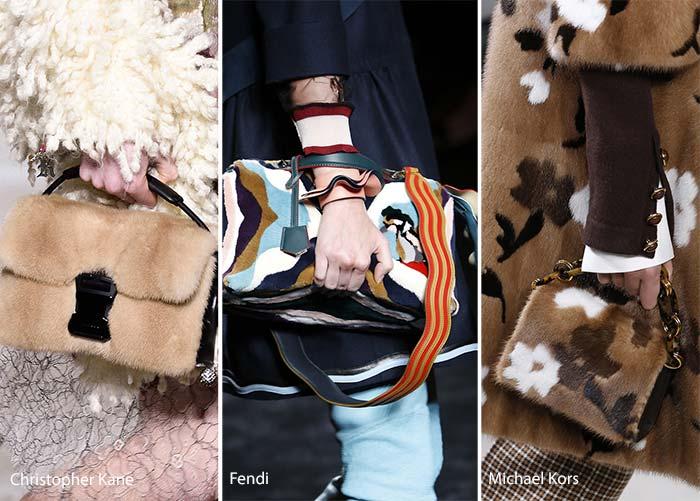 Модные сумки осени-зимы - из меха