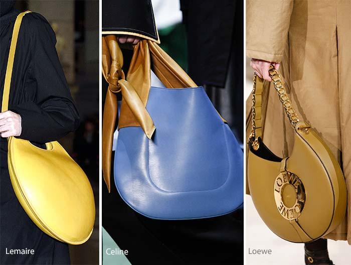 Модные сумки осени-зимы - луна