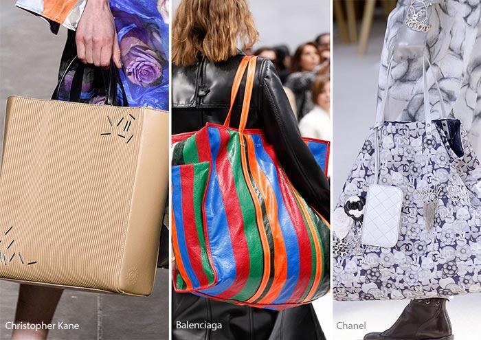 Модные сумки осени-зимы - большие