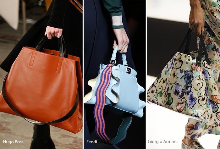 Модные сумки осени-зимы - трапеции