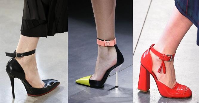 с ремешком Модная обувь осени-зимы 2016-2017