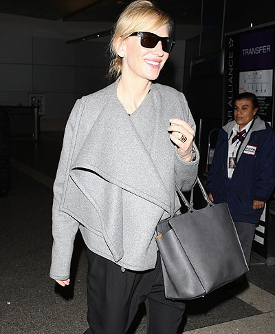 Cate Blanchett arriving at Los Angeles International Airport (LAX)  Featuring: Cate Blanchett Where: Los Angeles, California, United States When: 28 Feb 2014 Credit: WENN.com