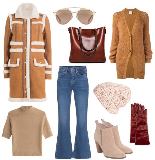 идеи для зимнего гардероба