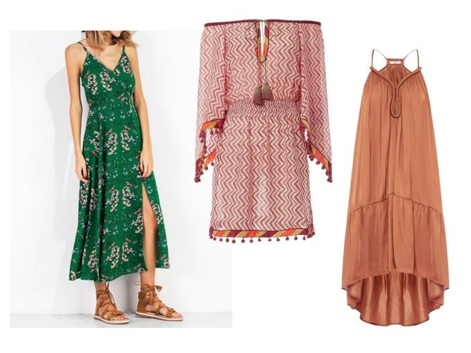 платья лета 2017