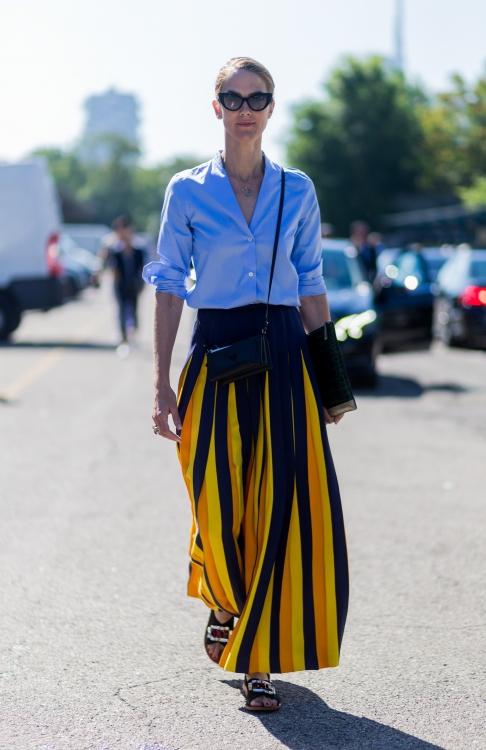 модные сочетаний лета 2018