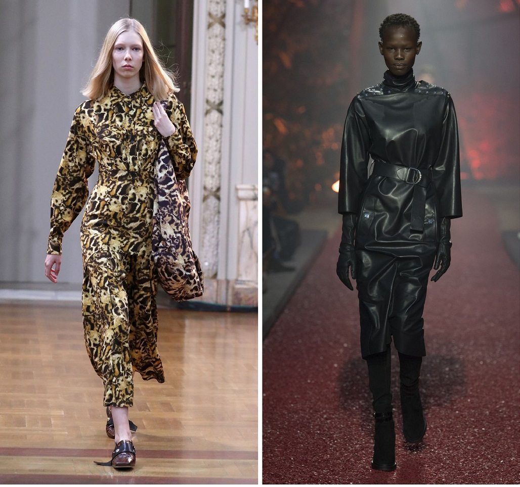 Тренды осени 2018: леопард, кожа