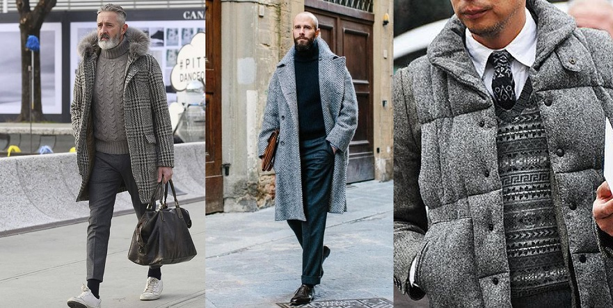 Мужской зимний стиль: 5 идей