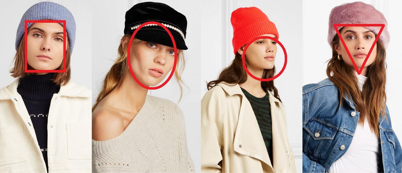 Как выбрать шапку по форме лица