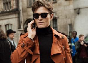 Как выбрать тренч: 5 идей для мужского стиля