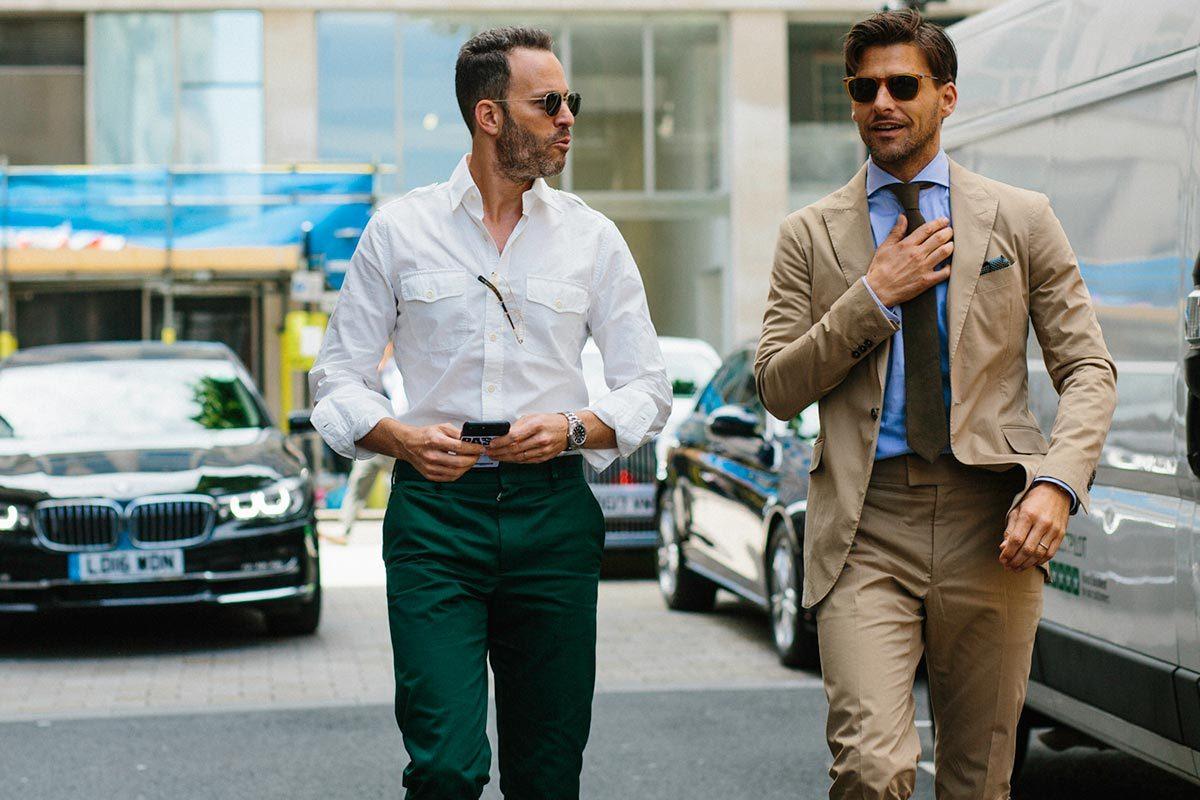 Модные мужские образы для весны 2020