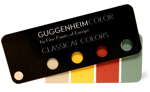 Краски от Guggenheim