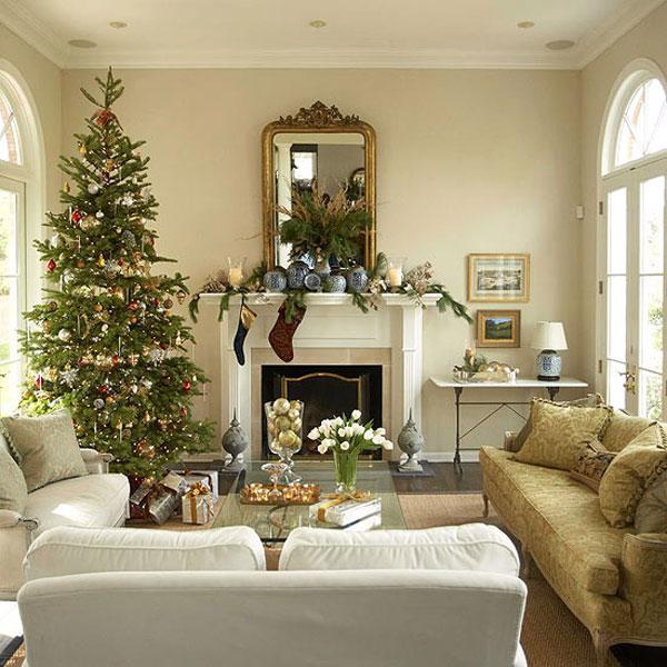 25 способов украсить комнату к Рождеству