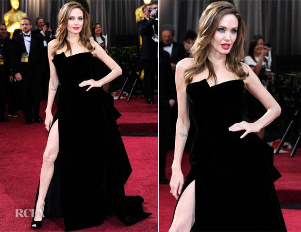 Лучшие наряды Оскара 2012