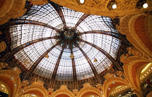 Шопинг-впечатления от Парижа. Galeries LaFayette